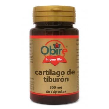 Cartílago de Tiburón 500 Mg.